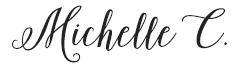 Michelle C. Signature