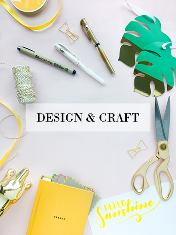 Design and Craft Blog Post Category