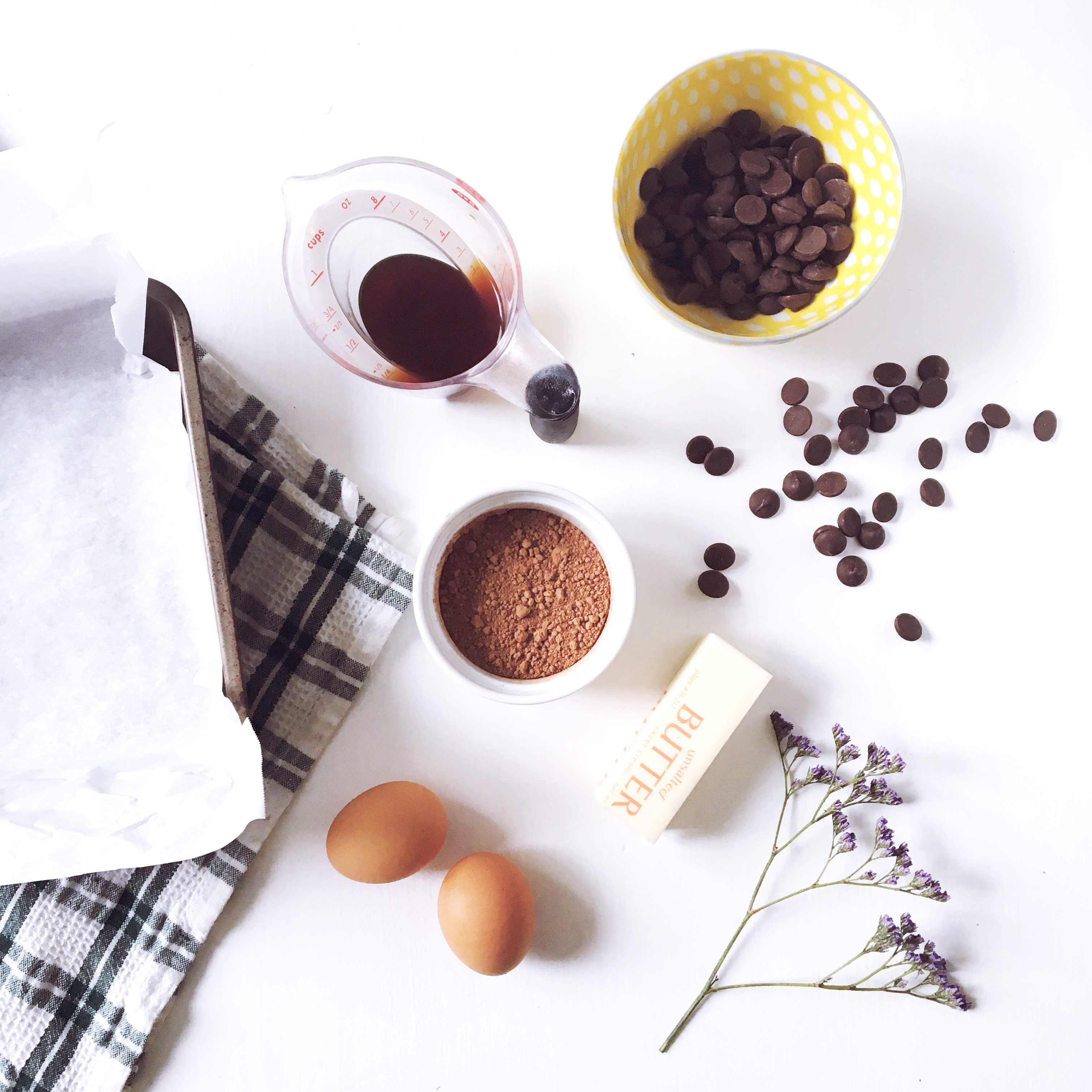 Grain Free Espresso Brownie Ingredients