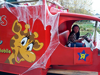 "Michelle in Toys""R""Us Halloween Truck"