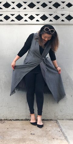 Thrift Store Style Full Length Duster