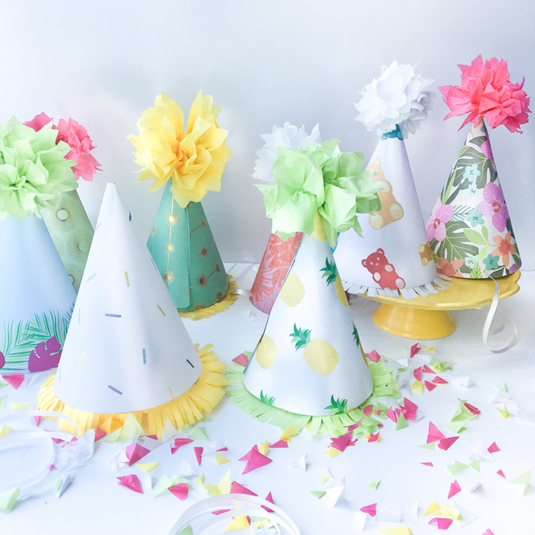OMC DIY Paper Party Hats