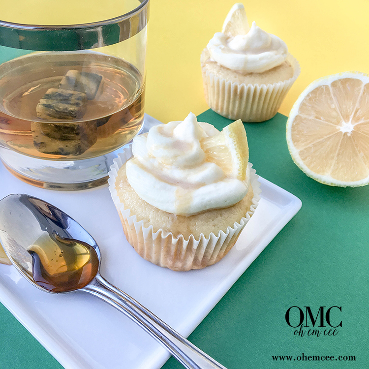 OMC Hot Toddy Cupcakes Whiskey Honey