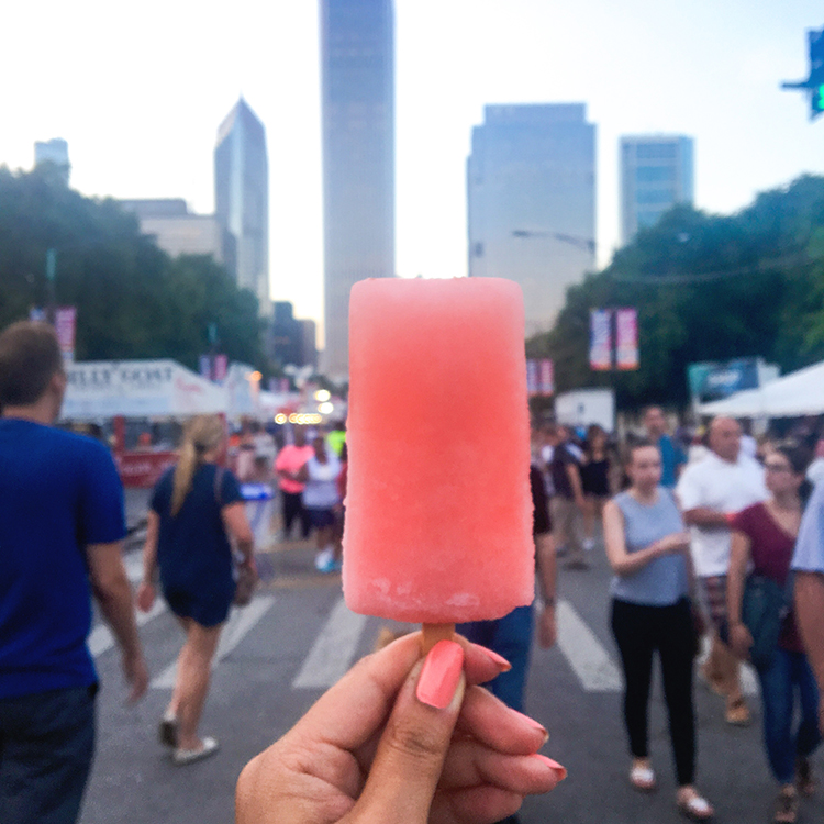 OMC Taste of Chicago Popsicle