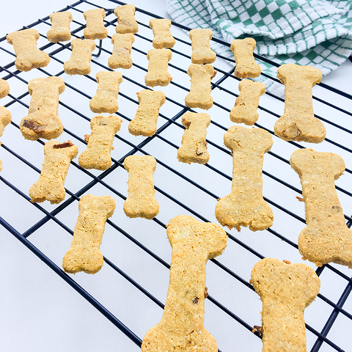 OMC Grain-Free Bacon Dog Treat Baked