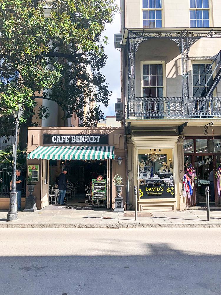 OMC New Orleans Trip Cafe Beignet