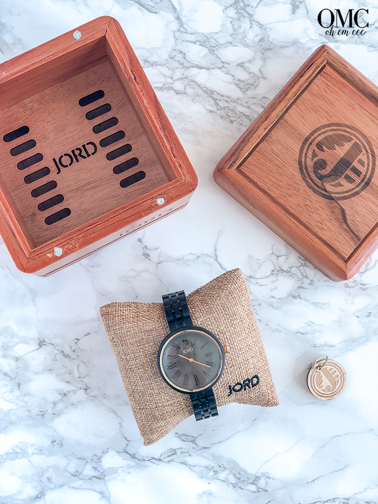 Jord Wooden Watch Box Cassia Collection