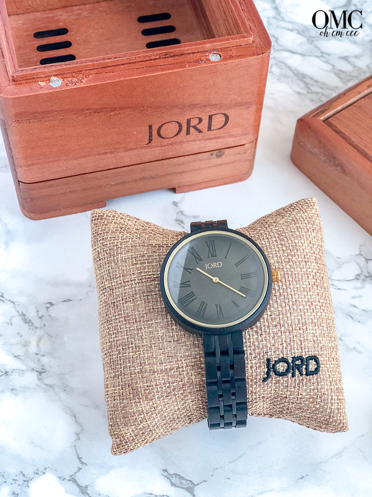 Jord Wooden Watch Cassia Collection