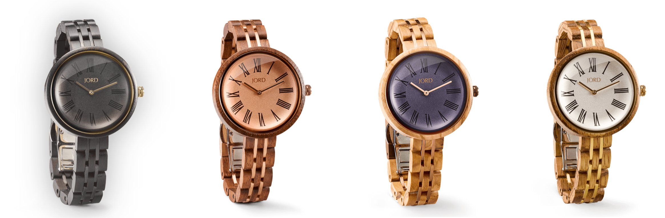 Cassia Series Jord Wood Watches