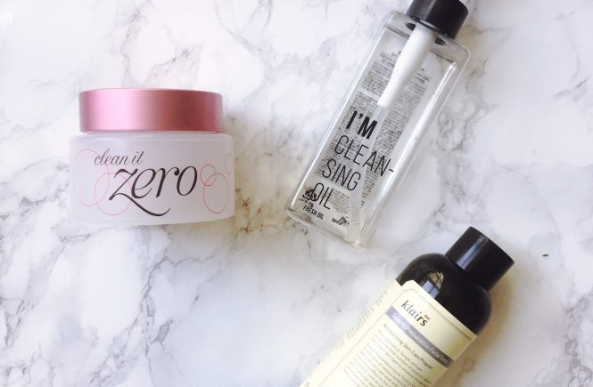 Banila Co. Clean It Zero, I'm Cleansing Oil, Klairs Supple Preparation Facial Toner