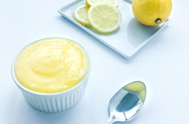Spoonful of Homemade Lemon Curd