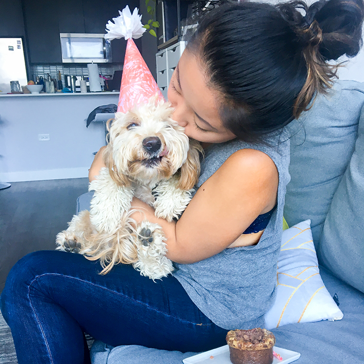 Riply's 1st Birthday Kisses