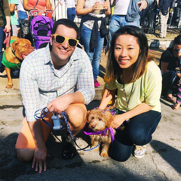 OMC Mardi Gras Pet Parade STL
