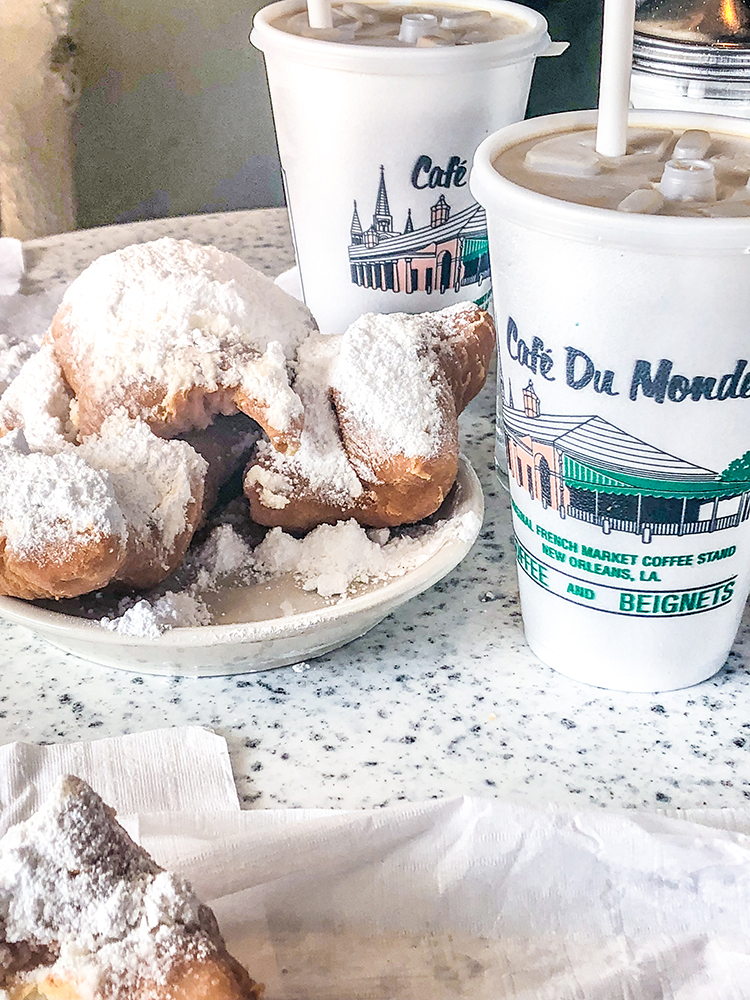 OMC New Orleans Trip Cafe du Monde Beignets Coffee
